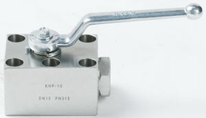 Khp3k Hydraulic High Pressure Carbon Steel Ball Valve pictures & photos