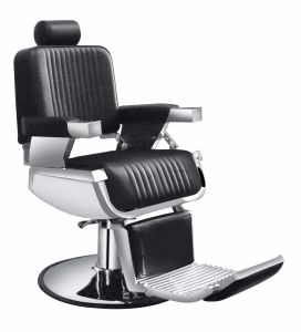 High Quality Salon Furniture Adjustable Barber Chair with Armrest pictures & photos
