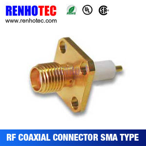 SMA Chassis Mount SMA Jack Solder Coaxial Cable SMA Connector pictures & photos