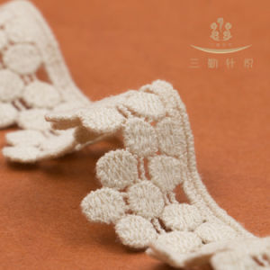 Competitive Price Chemical Cotton Lace pictures & photos