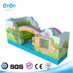 Cocowater Design Inflatable Forest Theme Bouncer LG9006