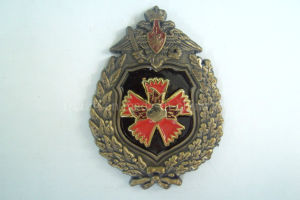 3D Zinc Alloy Antique Copper Badges