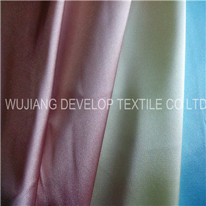 Polyester Satin Fabric/Polyester Charmeuse/Charmeuse Fabric