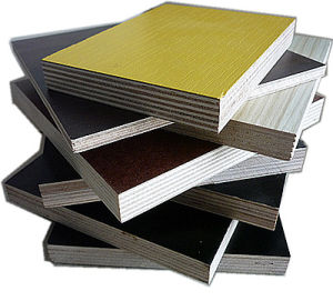 AAA Grade Imprint Shuttering Film Facedplywood with Ce Certificate