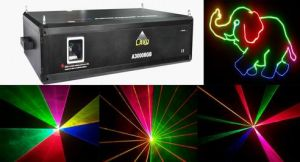 3000 Mw RGB 3000 Mw RGB Hight-Speed Optical Scanner Laser Light (A3000RGB)