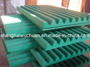 Manganese Steel Jaw Plate for Jaw Crusher pictures & photos