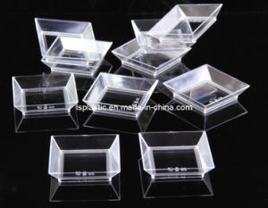 Plastic Appetizer Dishes Set 10 PCS (LS-5012-6)