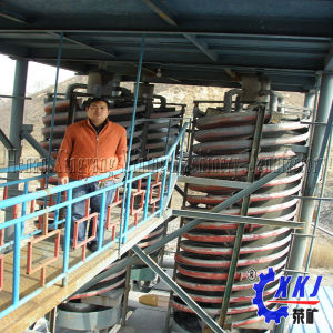 The Queen Quality Mineral Processing Spiral Chute