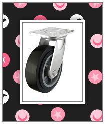 Black Color Caster Wheel