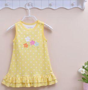 c9adf1e7c466 China Yellow Colour Baby Girls Dress
