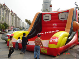 Inflatable Sports- Basketball Free Throw (CY-0109)
