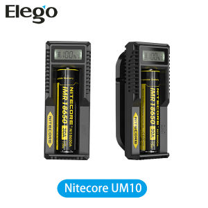 Wholesale Original Portable Battery Charger Nitecore Um10 18650 Battery Charger with Smart LCD Charger