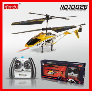 Newest 3CH Mini RC Helicopter Gyro (1002G)
