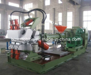 Pin Barrel Cold Feed Rubber Extruder 150X16D pictures & photos