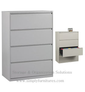 Lateral Office Filing Cabinet with High Quality pictures & photos