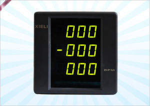 3-Phase Digital Voltmeter, Ammeter