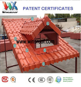 Win Synthetic Resin Roof Tile Europ Style pictures & photos