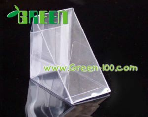 High Quality Clear Display Pet Plastic Packing Box (F-12)