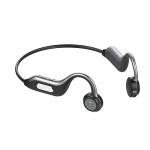 China Bone Conduction Wireless Headset Outdoor Sport Waterproof Wireless Headphones With Microphone Handsfree Earphones China Sport Headphone Earphone And Stereo Necklace Sports Microphone Music Price