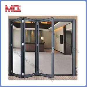 China Commercial Accordion Aluminum Folding Door Mqd-2 - China ...