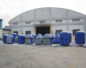 Air Sealed Inflatable Paintball Bunkers for Sale