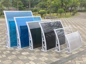 Widely Sales Outdoor Products Clear Polycarbonate Sheet Garden Canopy Awning