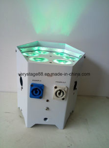 6*18W RGBWA+UV 6in1 Wireless PAR Battery LED Uplight Controlled by IR APP pictures & photos