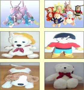 Plush Toy (Animals & Cartoons)