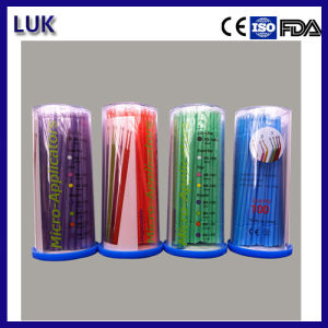 Hot Sale Micro Applicator Dental Material (Middle Size) pictures & photos