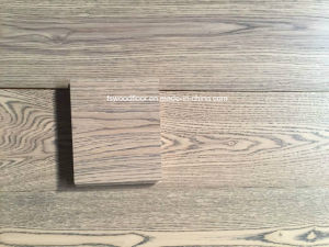 Light Gray Wide Plank Engineered Wood