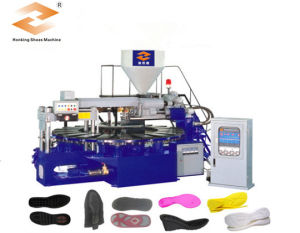 TPR PVC Sole Injection Moulding Machine pictures & photos