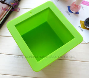 Rectangle Hand Made Soap Silicone Mould Cake Mould 9*9*6.5cm pictures & photos