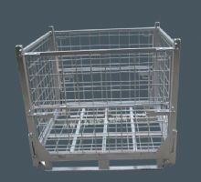 Foldable Wire Mesh Box