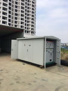 35kv Electrical Compact Prefabricated Substation Transformer pictures & photos
