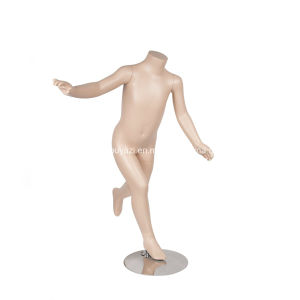 Jumping Headless Children Mannequin for in Store Display pictures & photos