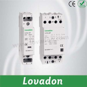 LC4 DIN Rail Modular Contactor pictures & photos