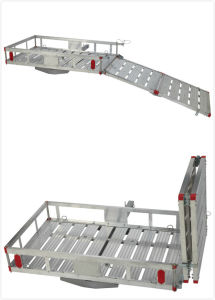 High Quality Aluminum Cargo Carrier with a Drop-Down Ramp