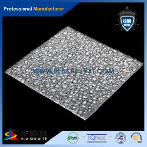 Hot Sell Crystal Corrugated Clear Embossed PC Sheet (PC-E) pictures & photos