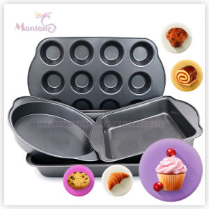 12 Cup Carbon Steel Non-Stick Cake Bakeware Baking Pan pictures & photos
