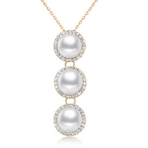 Wholesale New Design Fashion Jewelry Pendant Pearl Necklace