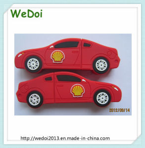 Customized 2D Car PVC USB Flash Memory USB Stick (WY-PV102) pictures & photos