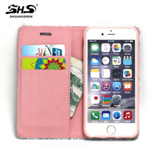 3D Relief Printing PU Leather Phone Case for iPhone 6s