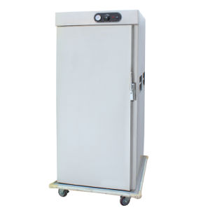 Heated Holding Cabinet Warmer Cart For Hotel