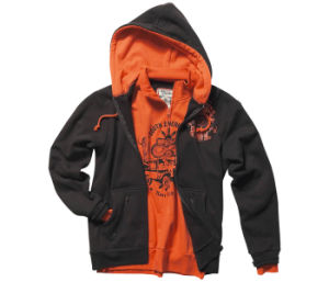 Stylish China Manufacturer Men′s Clothing Hoodies (H026W) pictures & photos