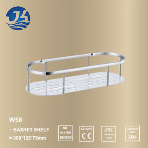 High Quality Stainless Steel Bathroom Hardware Net/ Storage Rack Shelf (W58)