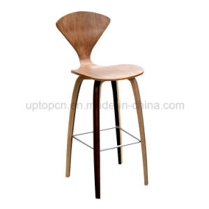 Laminate Plywood Norman Cherner Replica Bar Stool (SP BC462)