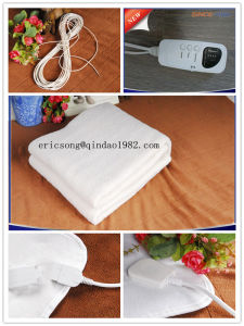 Automatic Digital Controller Synthetic Luxury Wool Fleece Electric Blanket pictures & photos