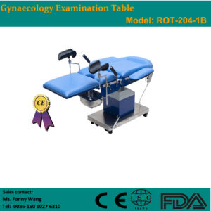 2015 Promotion! ! Electric Gynaecology Examination & Operating Table (ROT-204-1B) -Fanny pictures & photos