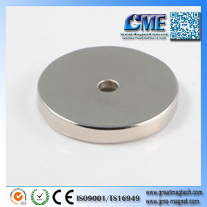 Super Strong Flat Magnets Strongest Permanent Magnetic Material pictures & photos