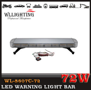 COB 72 LED Ambulance Lightbar, Firefighters Lightbars